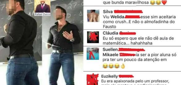 Professor sofre assedio sexual no Facebook (Via: Rafael Zucco)