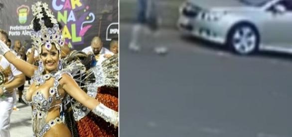Rainha de bateria Paola Serpa é assassinada em Porto Alegre.