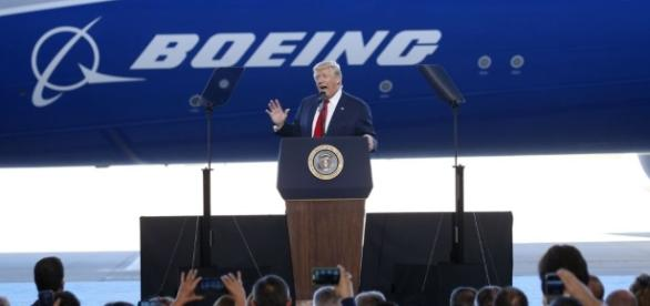 Trump Touts 'America First,' US Jobs During Boeing Factory Visit - voanews.com