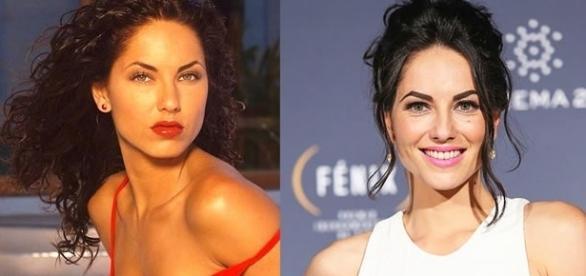 Antes e depois dos atores da novela Rubi