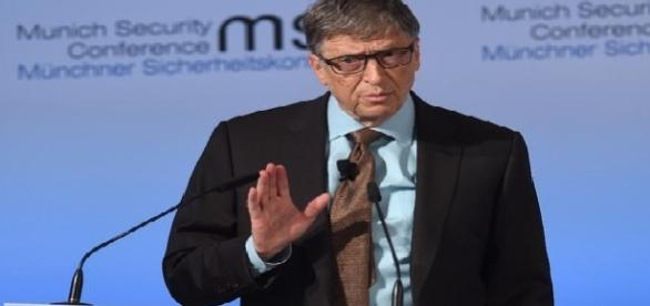 Bill Gates discursa na 'Conferência de Segurança' em Munique