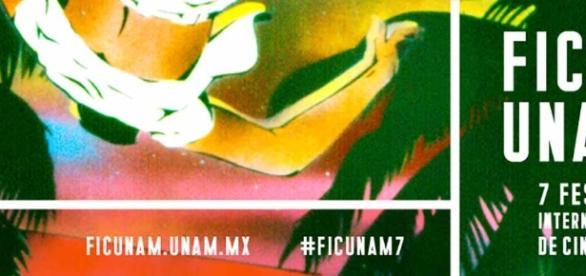 El artista, ensayista, y editor mexicano Felipe Ehrenberg, fue el encargado de realizar la imagen para la séptima edición de FICUNAM