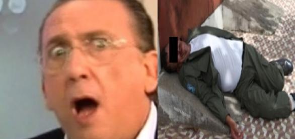 Galvão Bueno bebê demais, vai parar na ambulância e tudo acaba mal
