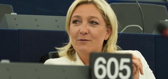 Marine le Pen - EU Parlement . - CC BY