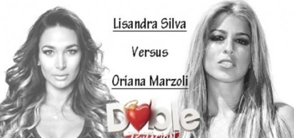 Oriana Marzoli contra Lisandra Silva