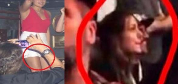 Sasha é flagrada com Caio Castro