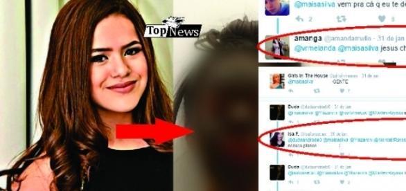 A atriz dividiu com seus seguidores uma imagem em que aparece com o rosto irreconhecível