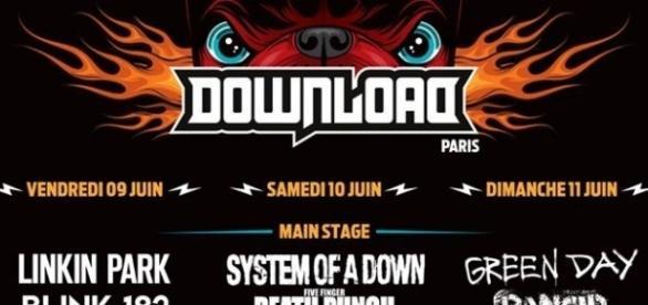 Affiche du Download Festival 2017