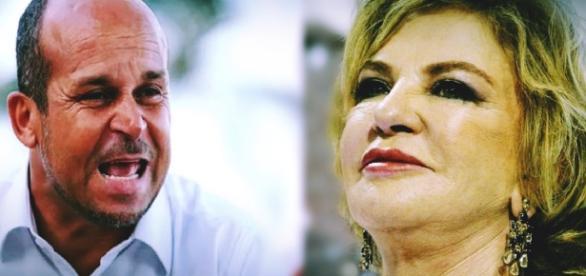 Carlinhos vidente e Dona Marisa Letícia
