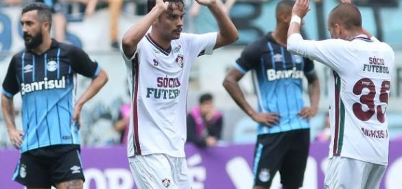 Destaque do Flu, Scarpa segue na mira do Palmeiras (Foto: Band.com.br)