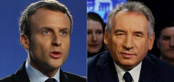 Emmanuel Macron - François Bayrou