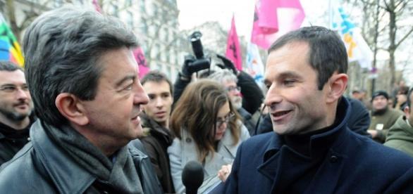 Les deux candidats déclarés de la gauche parlementaire