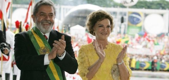 Lula e Marisa eram casados há muitos anos
