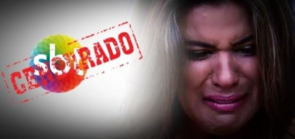 Mara Maravilha chora após escândalo - Google