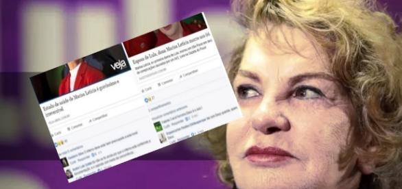 Marisa Letícia tem morte cerebral