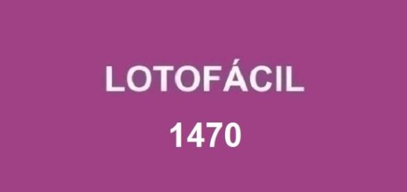 Resultado do concurso 1470 da Lotofácil