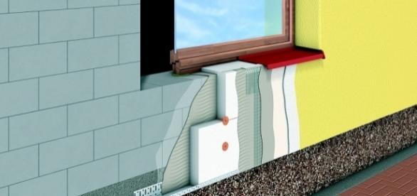 Sistemas Etics: Isolamento térmico pelo exterior.