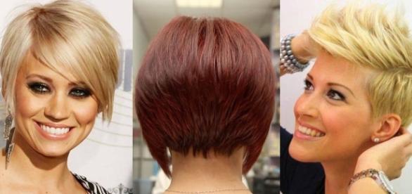 Taglio capelli corti bob