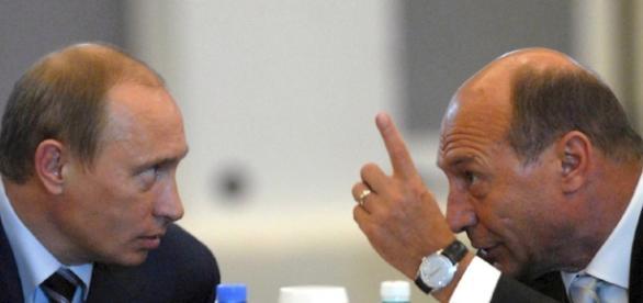 Traian Băsescu şi Vladimir Putin