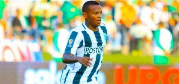 Vasco está próximo de acertar contratação do atacante colombiano Andrés Escobar (Reprodução/Futbolred)