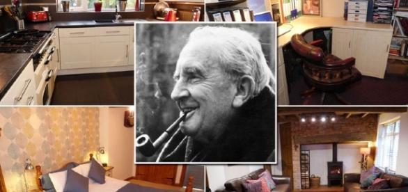 A casa passou por reformas, mas conserva características de quando Tolkien viveu nela