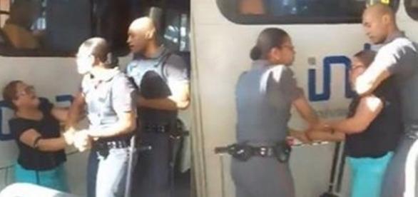 A confusão aconteceu durante o embarque de ônibus em Salvador.