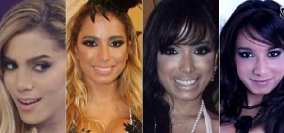 Anitta mudou muito no decorrer de sua carreira