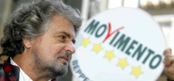 Beppe Grillo, leader del Movimento 5 Stelle.