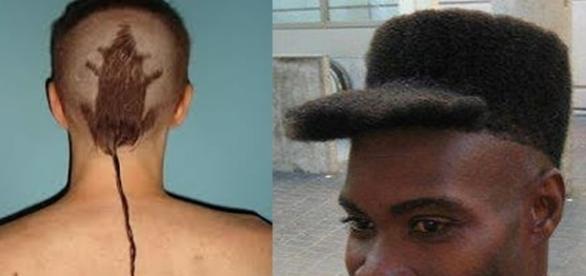 Cortes de cabelos que algumas pessoas fizeram