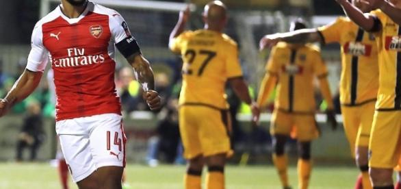 FA Cup: Sutton United 0-2 Arsenal highlights - BBC Sport - bbc.co.uk
