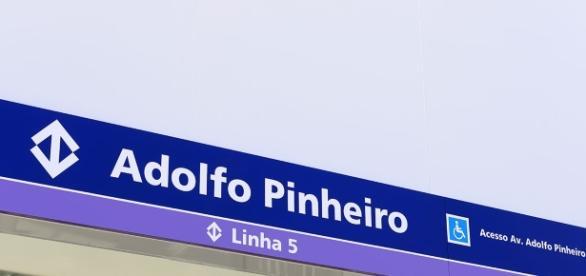Estação Adolfo Pinheiro foi interditada nesta terça-feira