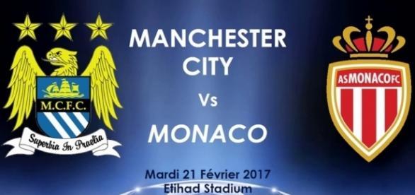 Manchester City - Monaco, Ligue des Champions.