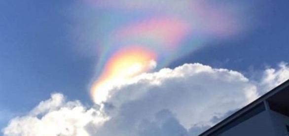Arco-íris de fogo, foto Reprodução.
