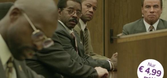 "Cuba Gooding Jr. und John Travolta in ""The People v. O.J. Simpson"" - bei Sky Ticket im Abruf / Fotos: Sky, FX"