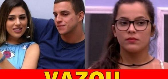 Emilly, Manoel e Vivian disputam o paredão de reality show - Google