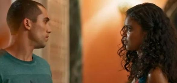 Giovane e Joana na novela 'Malhação' (Divulgação/Globo)
