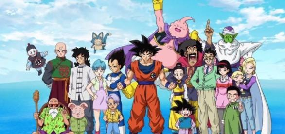 Imagen final del primer opening de la serie versión 1