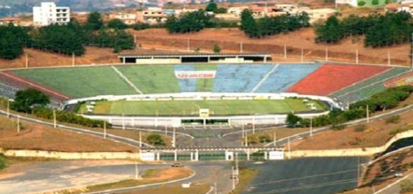 Mário Helênio, estádio de Juiz de Fora, receberá clássico entre Flamengo e Vasco (Foto: Guia de Muriaé)