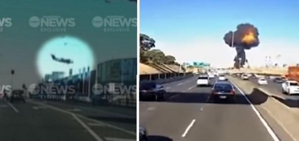 O acidente ocorreu nos arredores de um shopping movimentado na cidade.