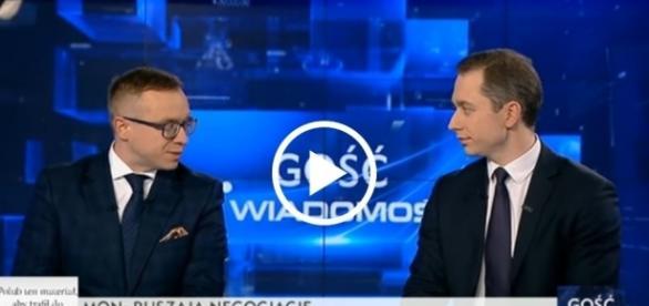 Poseł Soboń starł się w dyskusji razem z Cezarym Tomczykiem.