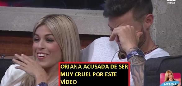 Vídeo de las imágenes que han provocado una lluvia de críticas a Oriana en Chile