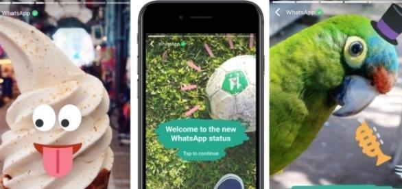 WhatsApp Status traz atualizações de status que somem em 24 horas