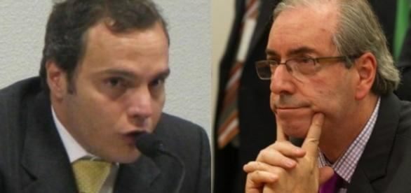 Alexandre Margotto e Eduardo Cunha