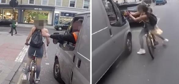Condutor a assediou e tentou tocá-la