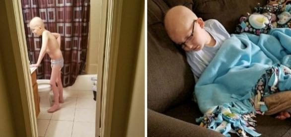 Drake tem dez anos e está lutando contra o câncer