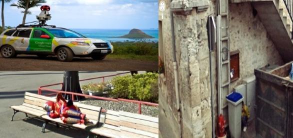 Imagens do Google Street View (Fonte: https://www.tecmundo.com.br/google-street-view/76900-25-fotos-engracadas-bizarras-google-street-view.htm)