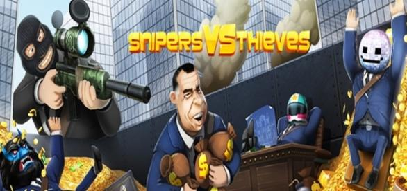 Snipers vs Thieves, now on Google Play Early Access | GameGrin - gamegrin.com