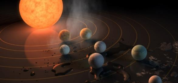 A whopping seven Earth-size planets were just found orbiting a ... - popsci.com