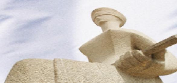 Estátua do Supremo Tribunal Federal-STF.