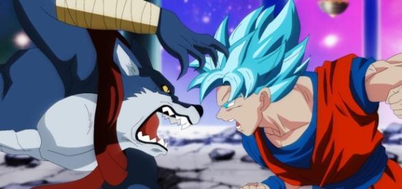 Goku ante un duro rival Bérgamo